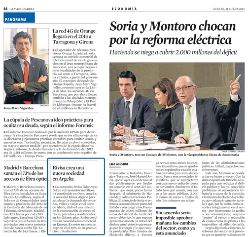 Rivisa - La Vanguardia - 11 jul 2013